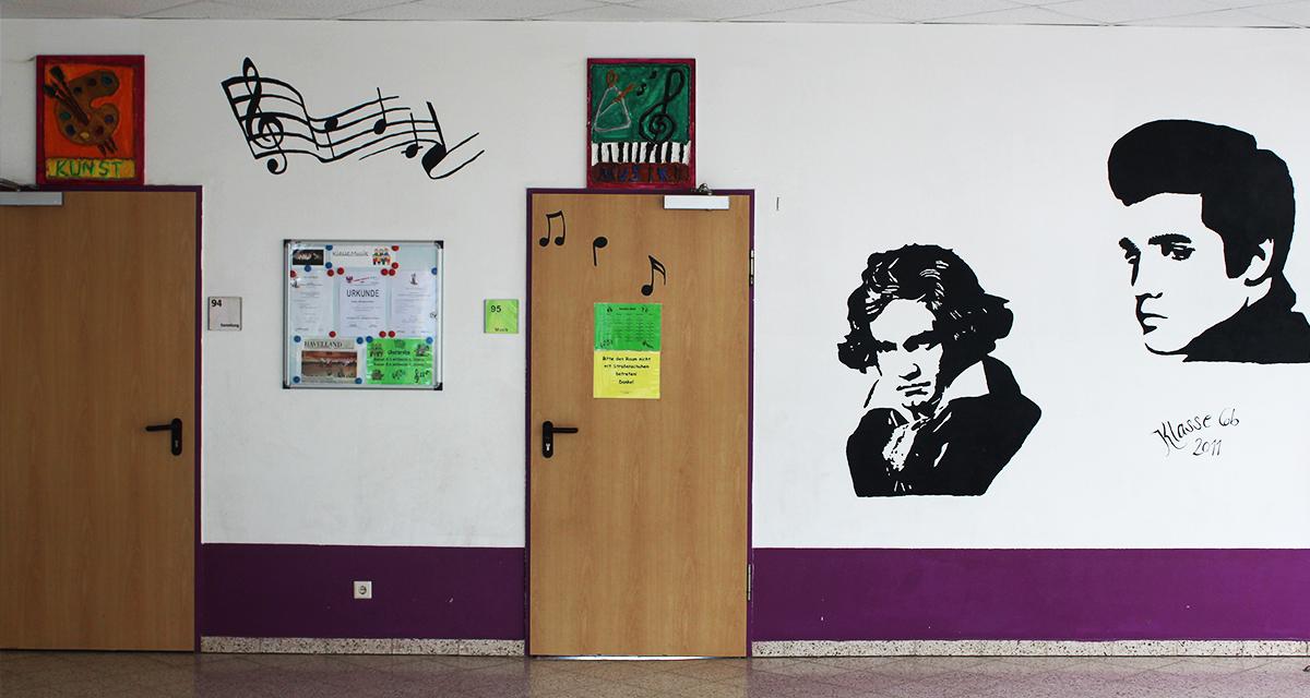 Unsere Kinder dekorieren ihre Klassenzimmer